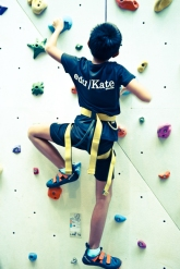 edukate student goes up Climb Central for Holiday enrichment programme primary school PSLE SEAB