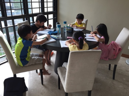 eduKateSG Primary 3 Students at Tampines