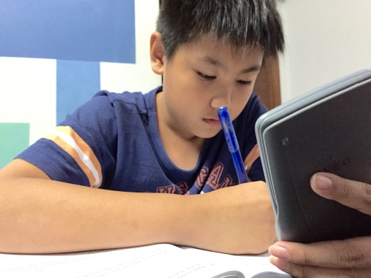 PSLE Singapore Maths Student in eduKate Singapore Tuition Centre
