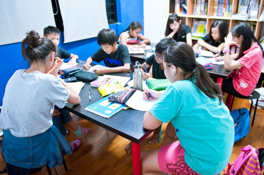 SEAB PSLE Students doing MOE Maths Primary 6 tuition in Tampines eduKate Singapore Tutorial Class