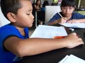 eduKate Tampines P3 students doing Mathematics