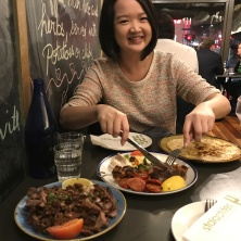 Staclactites Restaurant with Tutor Yuet Ling, Melbourne Australia