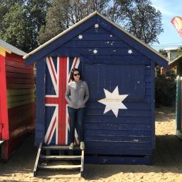 Brighton Beach with Tutor Yuet Ling, Melbourne Australia