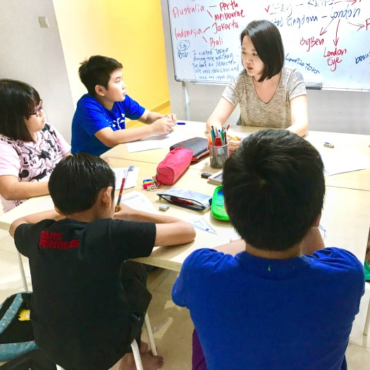 punggol primary creative writing
