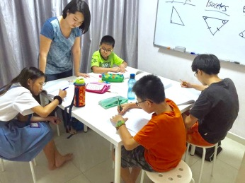 Our Punggol Tutor at eduKate SG Small tutorial classes for Primary School English, Math and Science tuition.