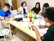 Learn and have a bit of fun doing that. Sec 1 Math Small Group Tuition