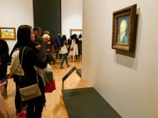 Tutor Yuet Ling at Melbourne NGV for Van Gogh Exhibition