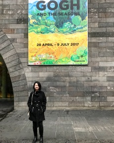 Tutor Yuet Ling in Melbourne for the Van Gogh