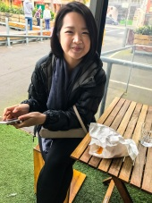 Tutor Yuet Ling in Queen Vic Market, Melbourne Australia