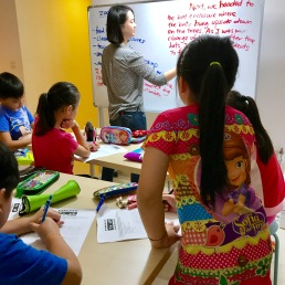 Creative Writing in Waterway Point Punggol by Tutor Yuet Ling