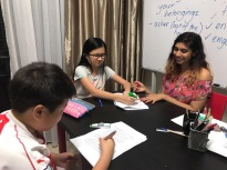 Small group tuition Centre with tutors teaching